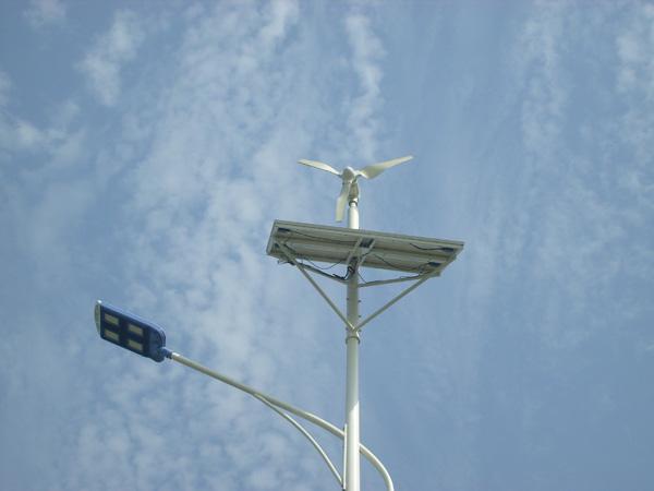 hybrid street lights