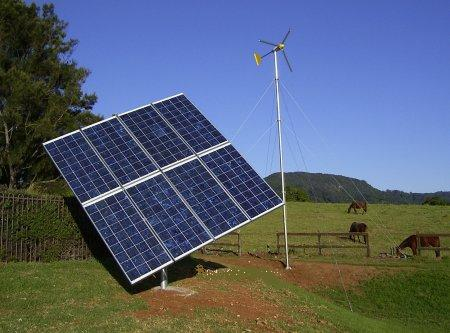 wind turbine, solar hybrid, wind hybrid.